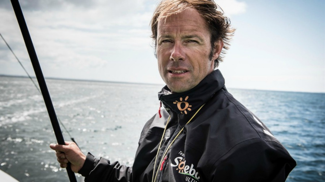 Thomas Coville and Sodebo to compete in the Lorient-Bermuda-Lorient
