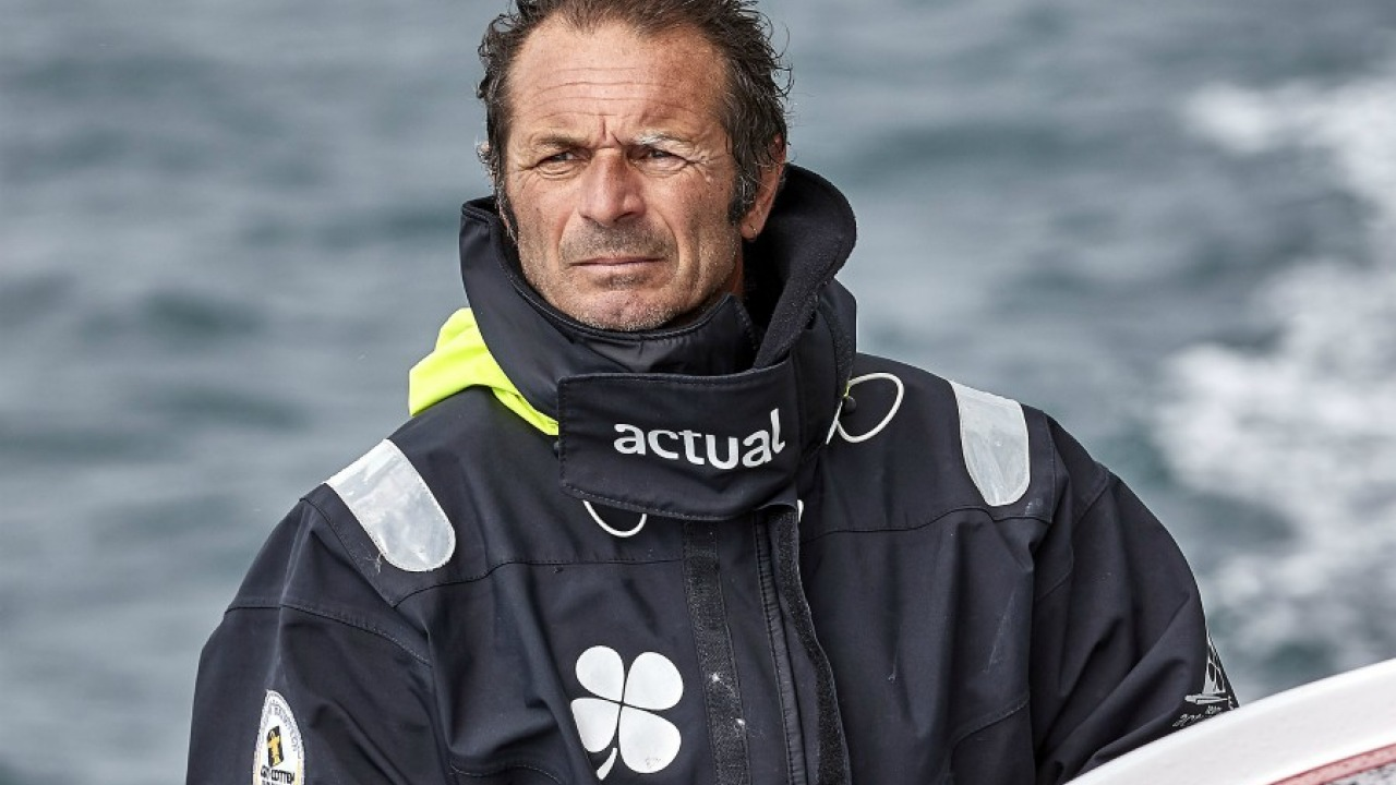 Yves Le Blévec and Actual Will Compete in the Lorient-Bermuda-Lorient
